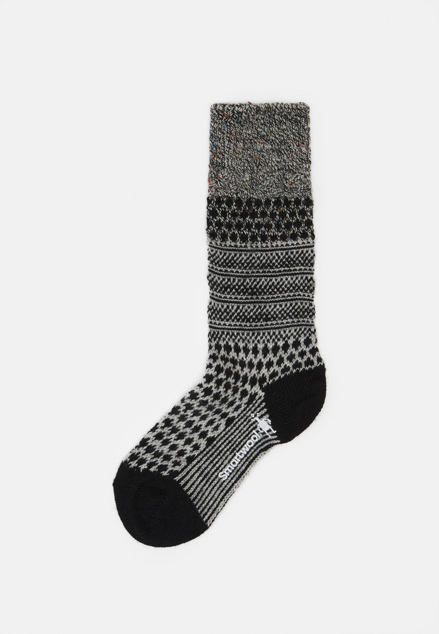 POPCORN CABLE - Sports socks - black/multi