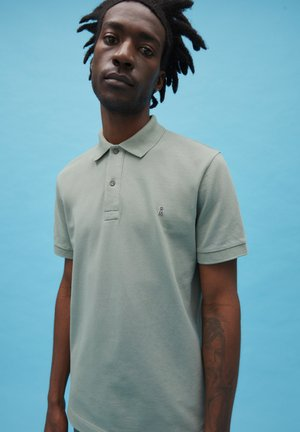 AANTON SOLID - Polo shirt - dusty agave