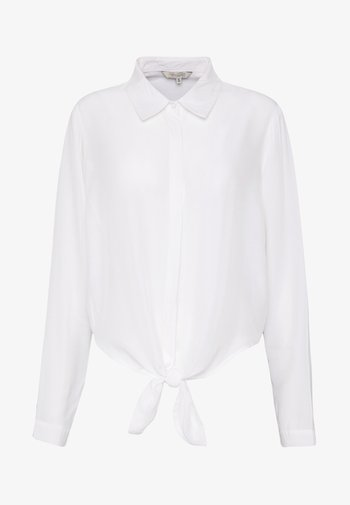 SEMISE MIX - Button-down blouse - chalk