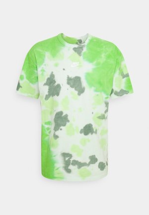 TEE  - Print T-shirt - mean green/barely green