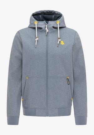 Waterproof jacket - dunkelmarine melange