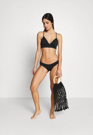 ONLHOLLY BRIEF 2 PACK  - Bikini bottoms - black/bright white