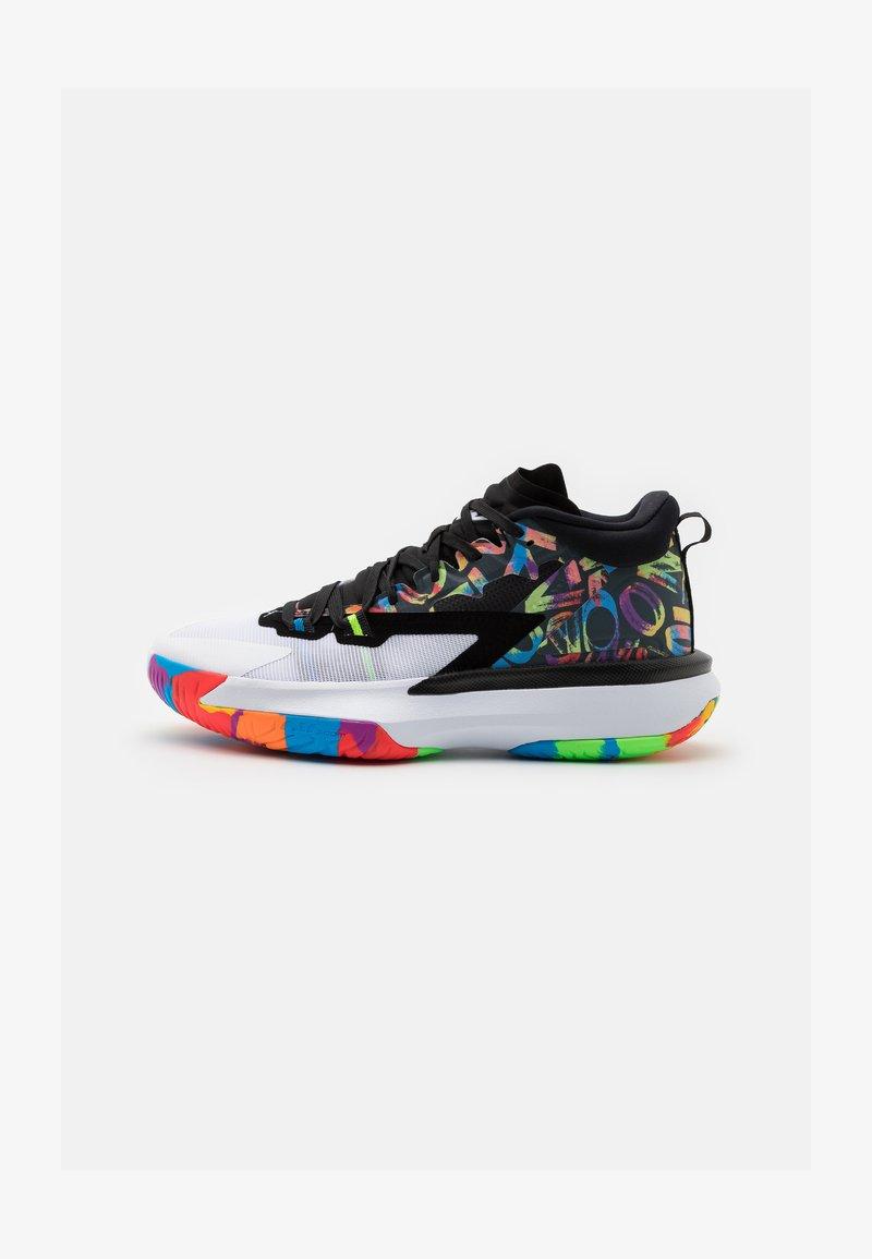 Jordan - ZION 1 - Chaussures de basket - black/white/bright crimson/amarillo/blue hero/hyper violet