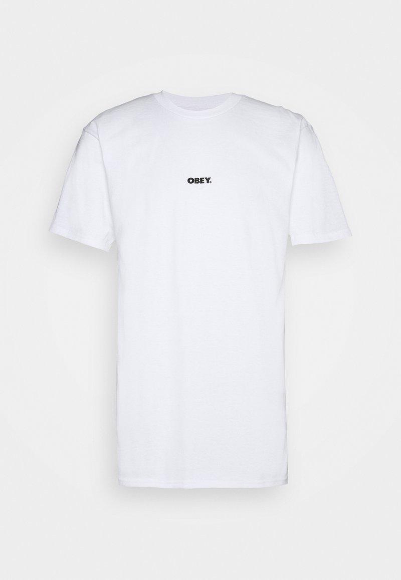 Obey Clothing - BOLD MINI - T-paita - white