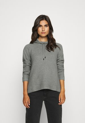 Strickpullover - middle grey melange