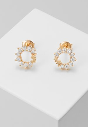 PREMIUM - Earrings - rose gold-coloured