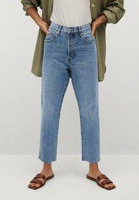 Mango - HAVANA - Straight leg jeans - middenblauw - 0
