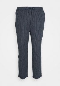 Only & Sons - ONSLINUS LIFE CROP TAP PANT - Tygbyxor - blues - 0
