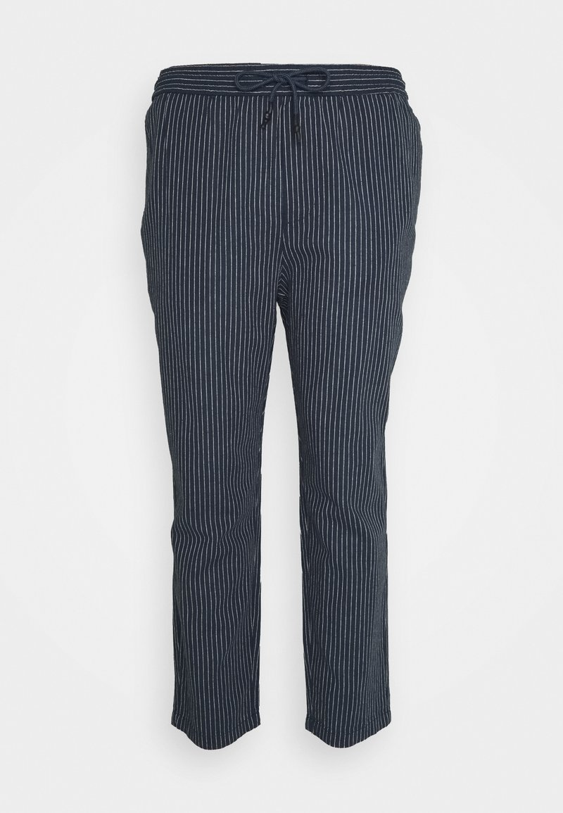 Only & Sons - ONSLINUS LIFE CROP TAP PANT - Tygbyxor - blues