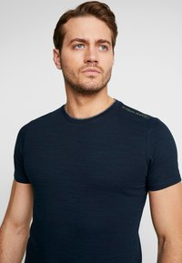 s.Oliver - KURZARM - Basic T-shirt - fresh ink melange - 3