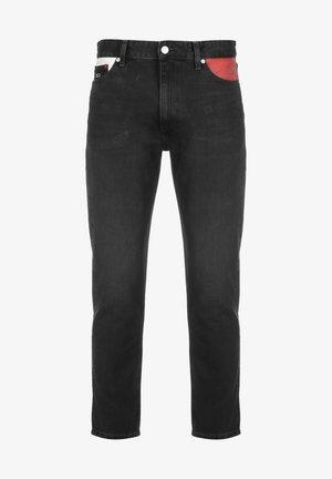 Straight leg jeans - denim black