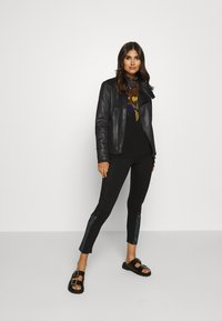 Desigual - CHAQ SVEN - Faux leather jacket - black - 1