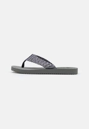 OCEAN - T-bar sandals - steel