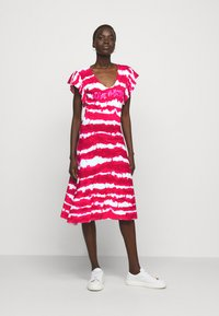 Love Moschino - Jersey dress - fuchsia - 1