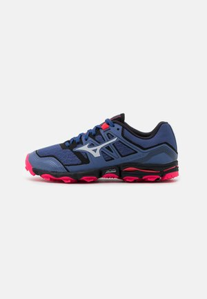 WAVE HAYATE 6 - Trail running shoes - marlin/lunar rock/diva pink