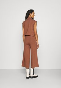 ALIGNE - CAIUS CULOTTES - Trousers - brown - 2