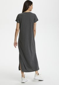 Kaffe - KACELINA - Maxi dress - dark grey melange - 1