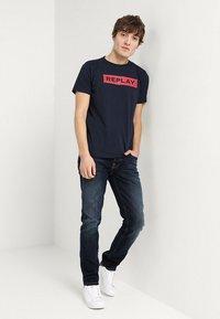 Nudie Jeans - GRIM TIM - Jeans slim fit - ink navy - 1