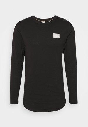 JCOSAWYER TEE CREW NECK - Long sleeved top - black