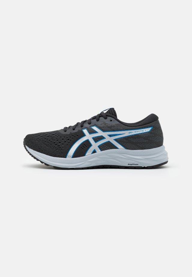 GEL-EXCITE 7 - Neutrální běžecké boty - graphite grey/directoire blue