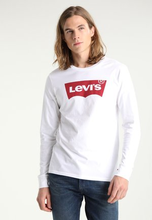 GRAPHIC - T-shirt à manches longues - better white