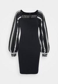 Marc Cain - Pletené šaty - dark blue - 7