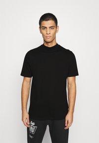 Topman - TURTLE 2 PACK - T-shirt basic - black - 1