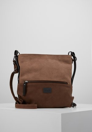 ELIN CROSS BAG - Across body bag - brown