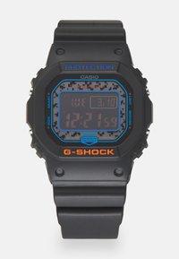 G-SHOCK - CITY CAMO UNISEX - Digital watch - black/blue - 0