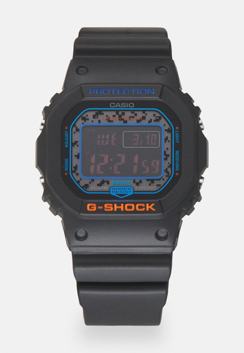 G-SHOCK - CITY CAMO UNISEX - Digital watch - black/blue