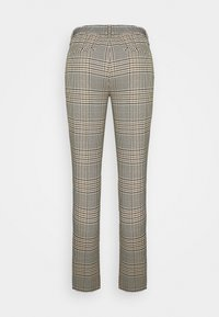 Opus - MORIEL MIXED CHECK - Trousers - sandshell - 5