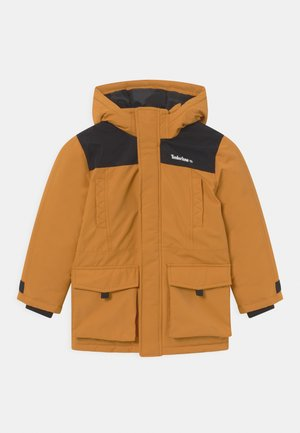 HOODED - Cappotto invernale - ochre