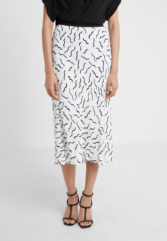 MAE - A-line skirt - white