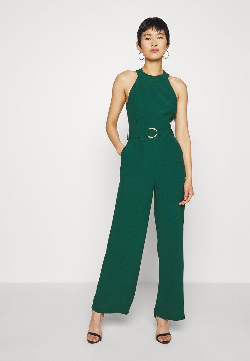 IVY & OAK - BELTED - Jumpsuit - eden green