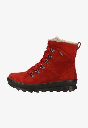 Winter boots - oriente (rot)
