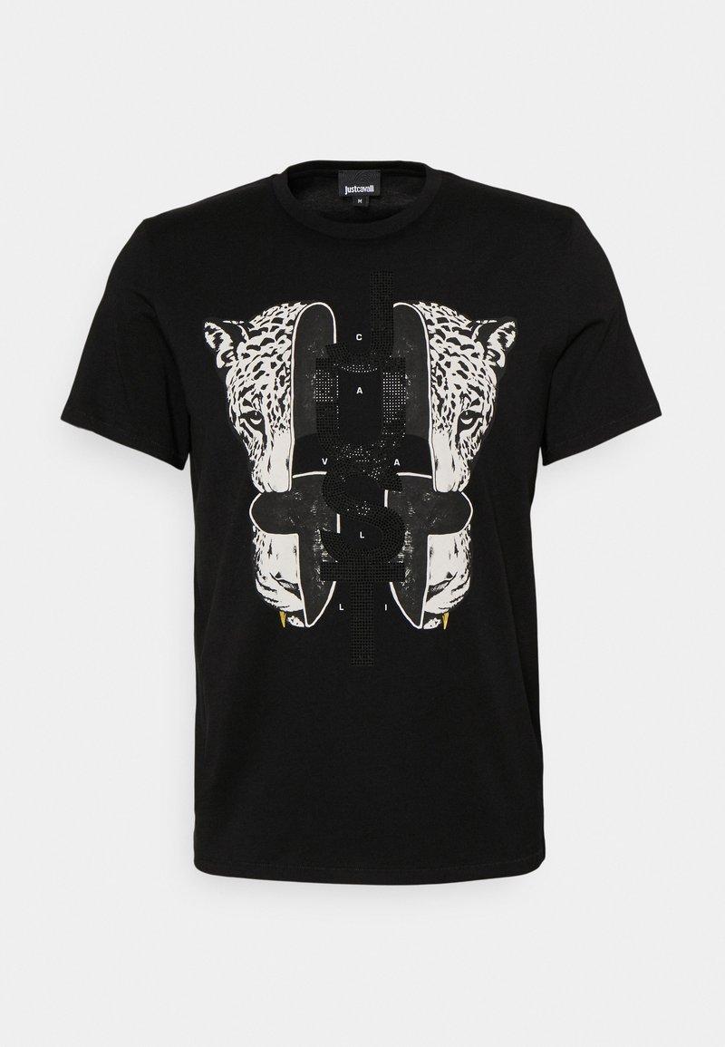 Just Cavalli - Print T-shirt - black