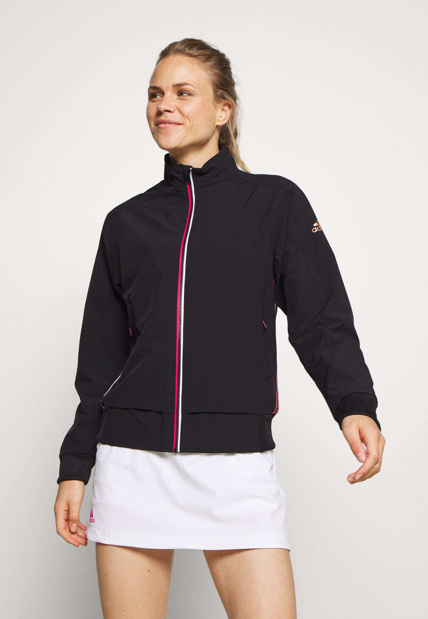 Designer Women's Clothing adidas Performance Training jacket black Gj5UjBwy6