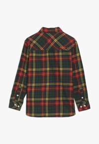 Superdry - EXPLORER CHECK  - Camisa - yellow/green - 1