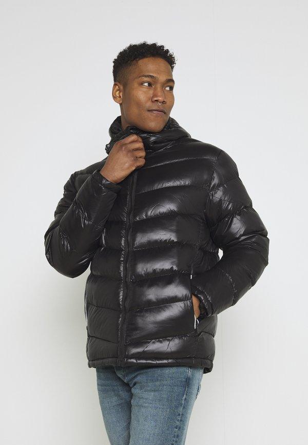 Brave Soul Kurtka zimowa - black/czarny Odzież Męska IGOB