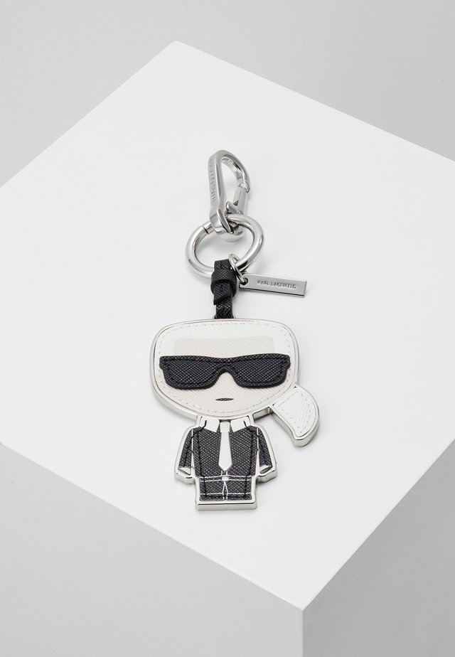 IKONIK KEYCHAIN - Schlüsselanhänger - black/white