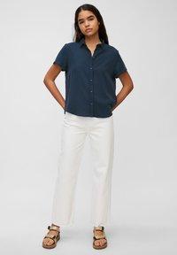 Marc O'Polo DENIM - Button-down blouse - dress blue - 1