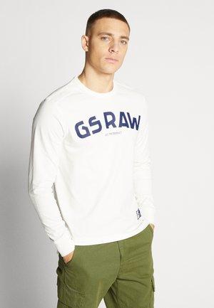 GSRAW GR - Pitkähihainen paita - milk