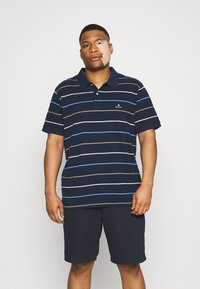 GANT - BRETON RUGGER - Polo shirt - navy/white - 0
