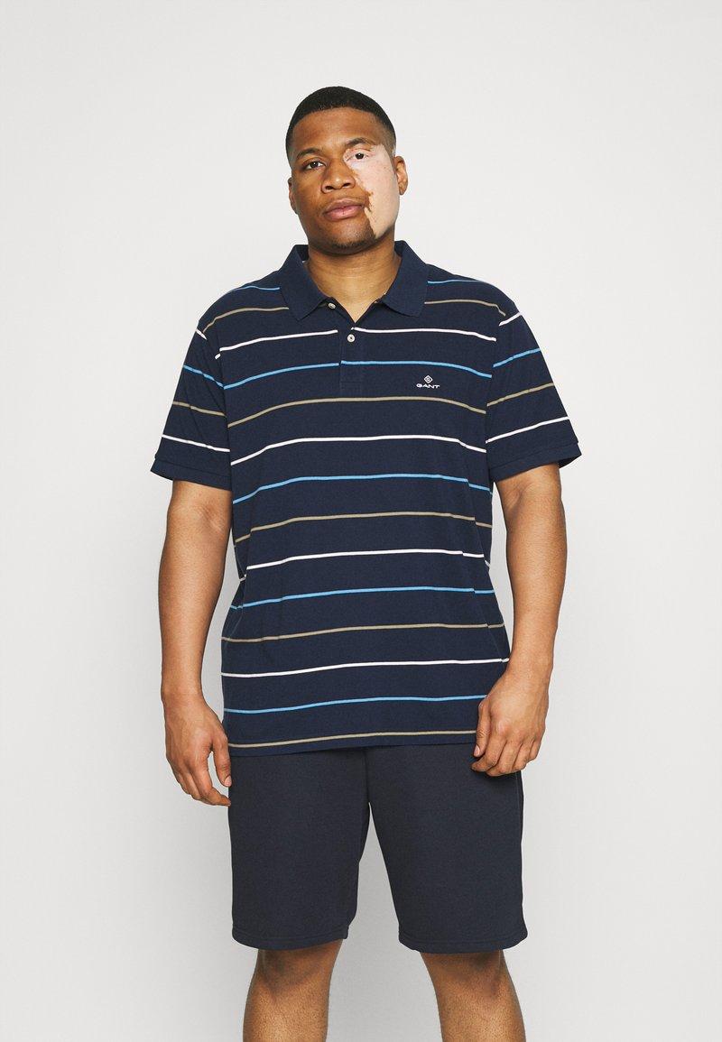 GANT - BRETON RUGGER - Polo shirt - navy/white