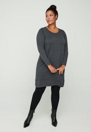 MIT A-PASSFORM - Jumper dress - dark grey