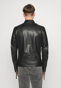 Tigha - DENZEL - Leather jacket - black - 2
