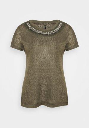 ONLRILEY BLING - Print T-shirt - kalamata