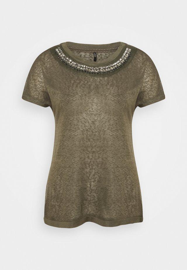 ONLRILEY BLING - T-shirt con stampa - kalamata