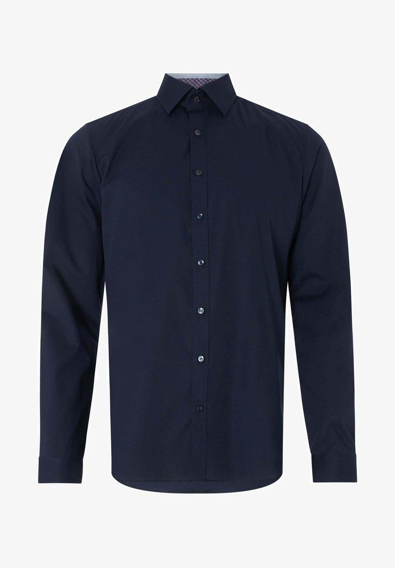 OLYMP Level Five - SLIM FIT - Formal shirt - marineblau