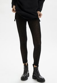 Cream - CRDEBBIE  - Leggings - Trousers - pitch black - 0